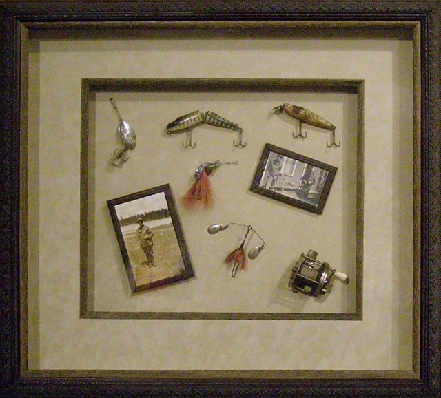 dad's hobby framed