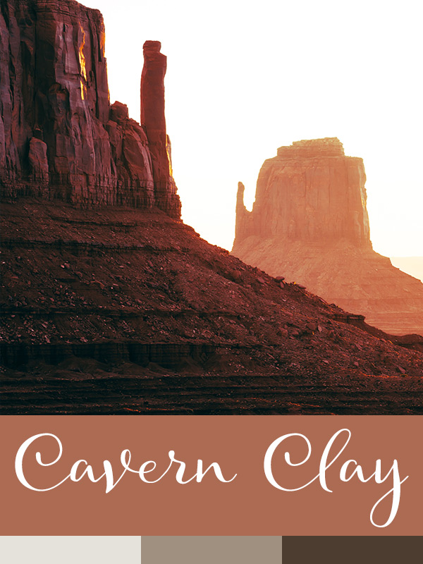 color of the year cavern clay